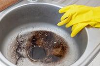 grease in kitchen sink drain