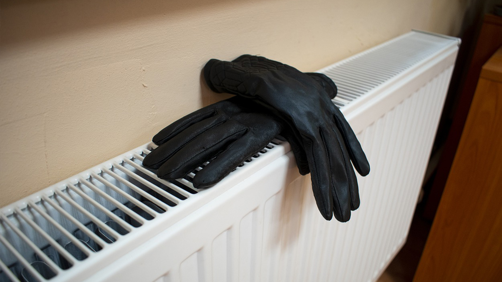 Gloves on a Radiator