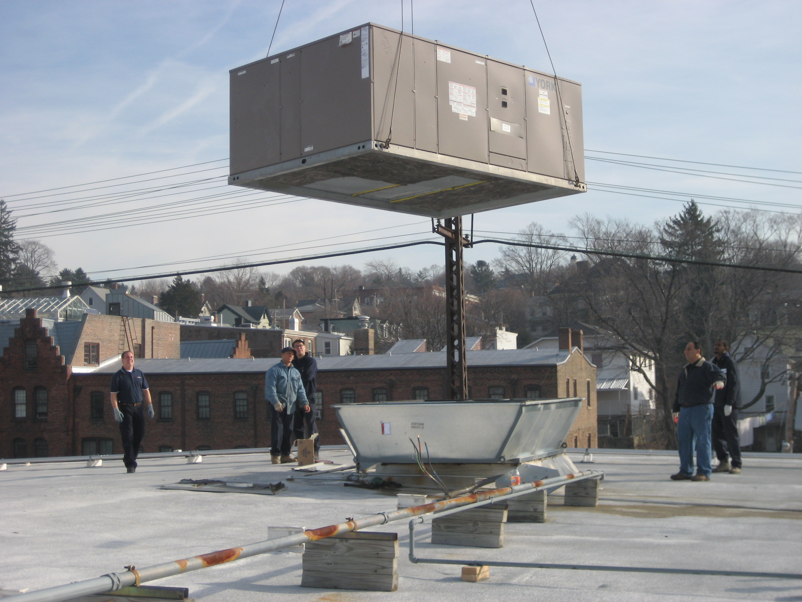 Commercial Cooling and Heating