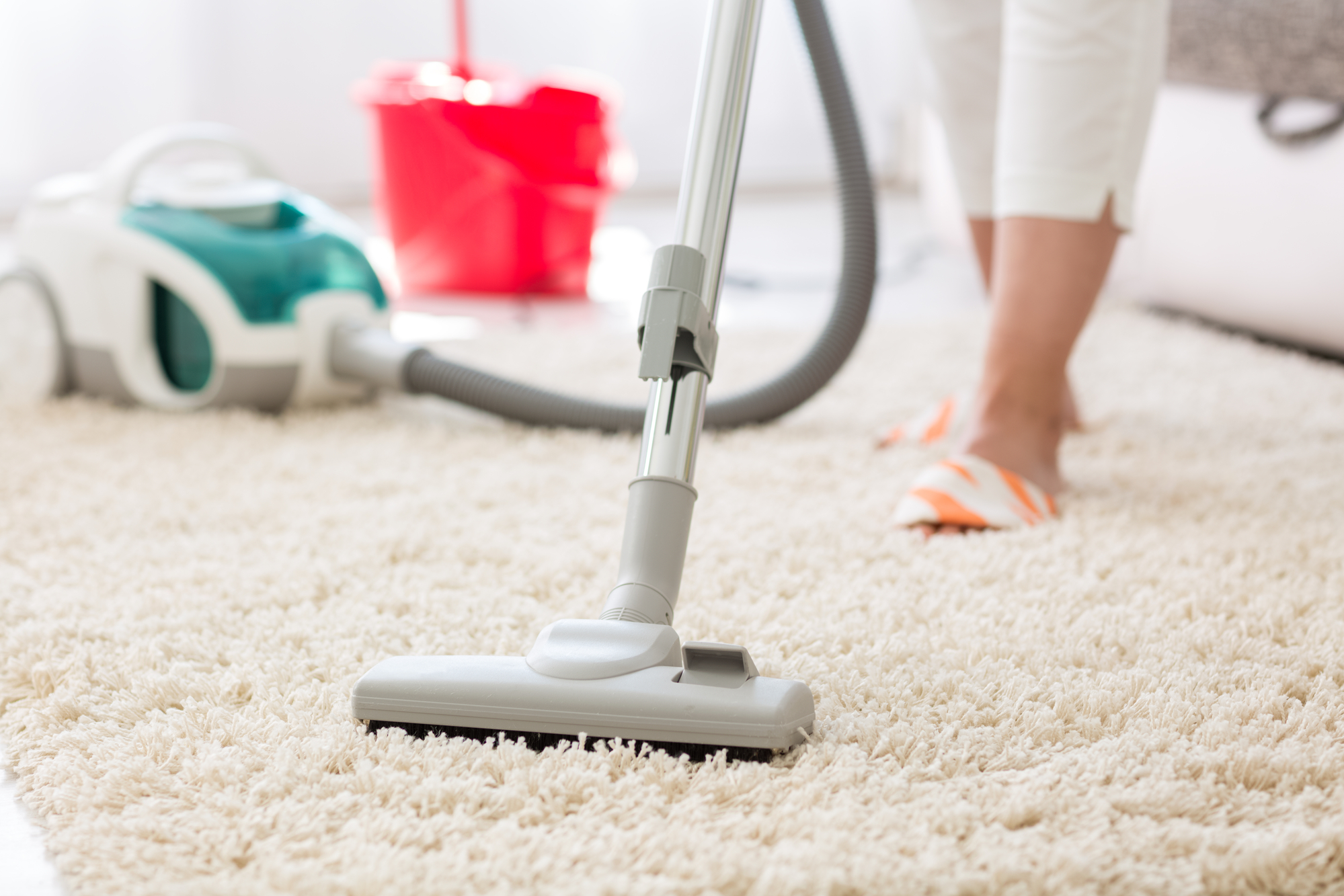 carpet cleaning at home