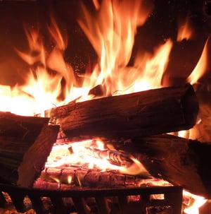 Firewood heating